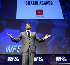 Aguado clausura la IV edición del congreso internacional World Football Summit